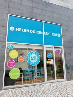 As renovadas instalações do Centro Helen Doron em Coimbra