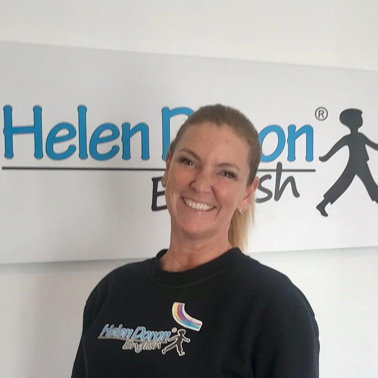 Lisa Teixeira e a contagiante alegria das Professoras Helen Doron English