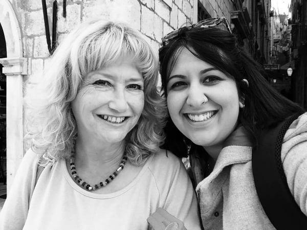 Pamela com Helen Doron