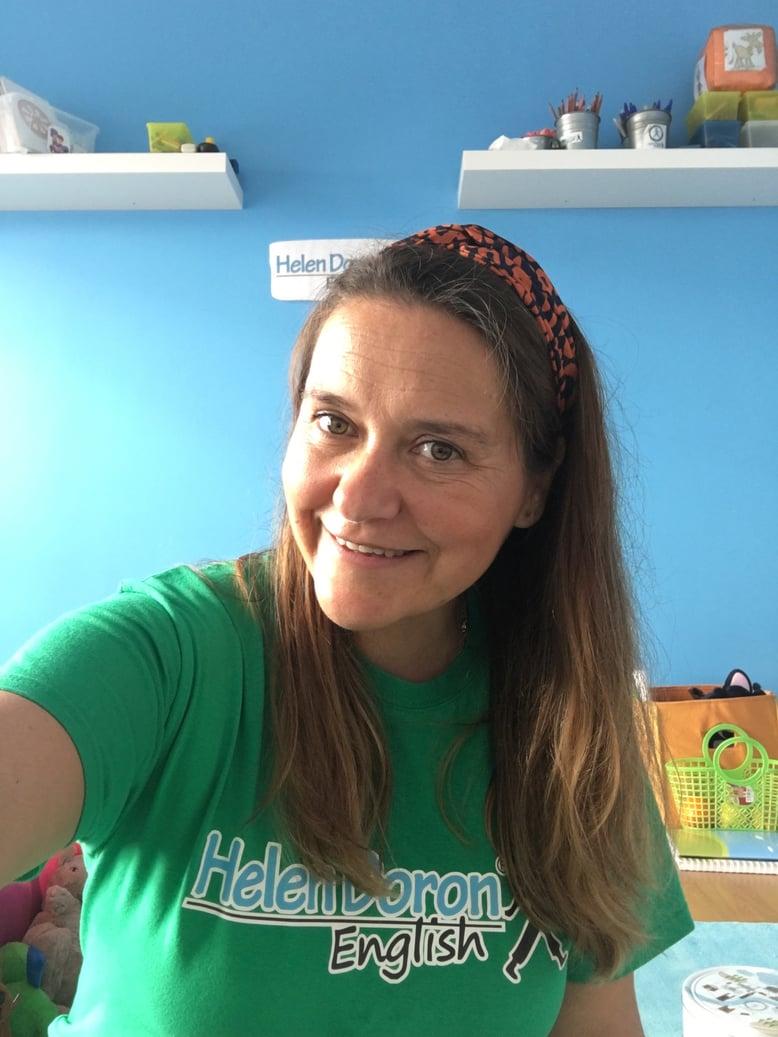 Olímpia Marquilhas, professora e franchisada do Centro Helen Doron em Cascais